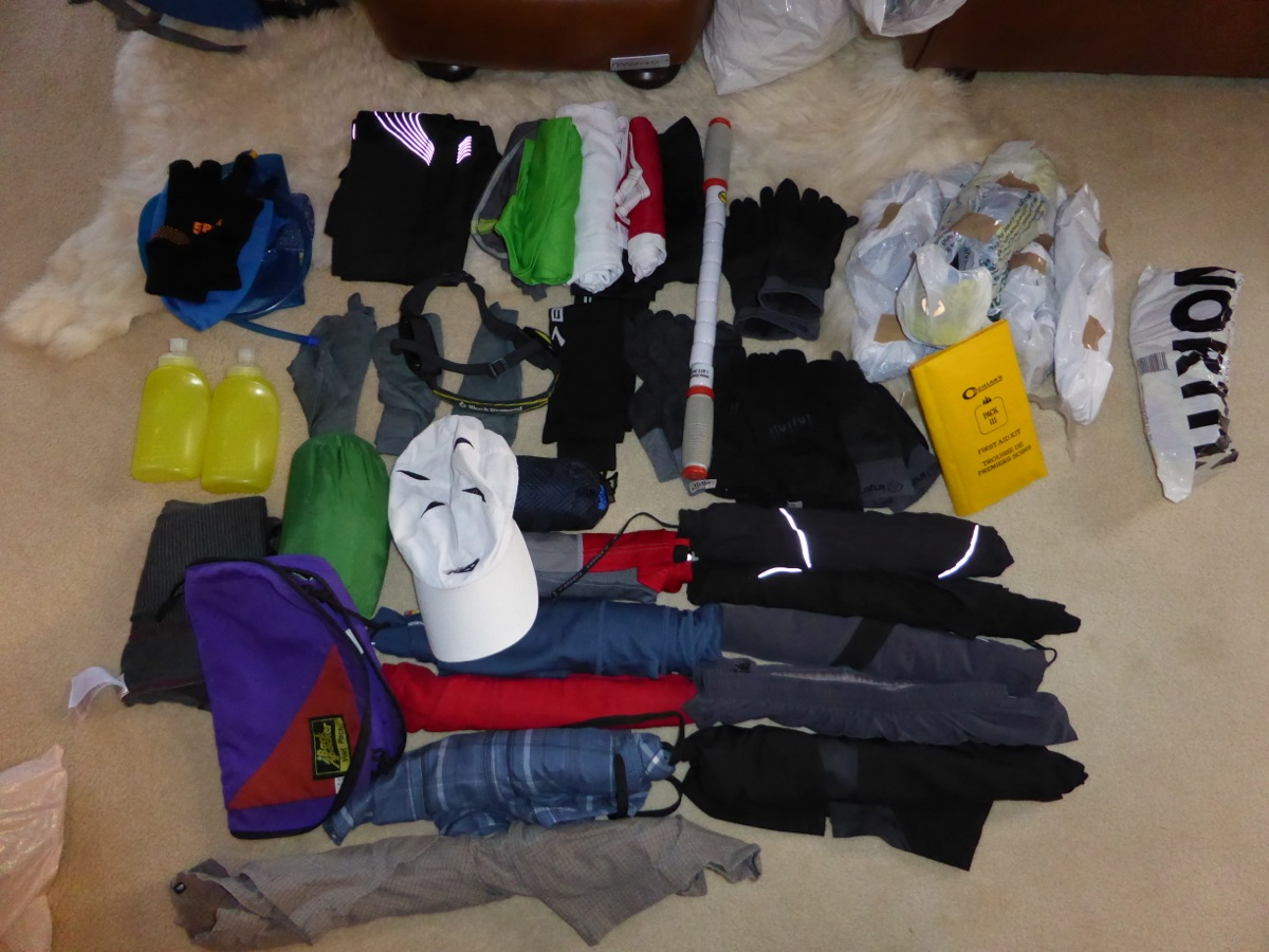 Richard's packing in progress