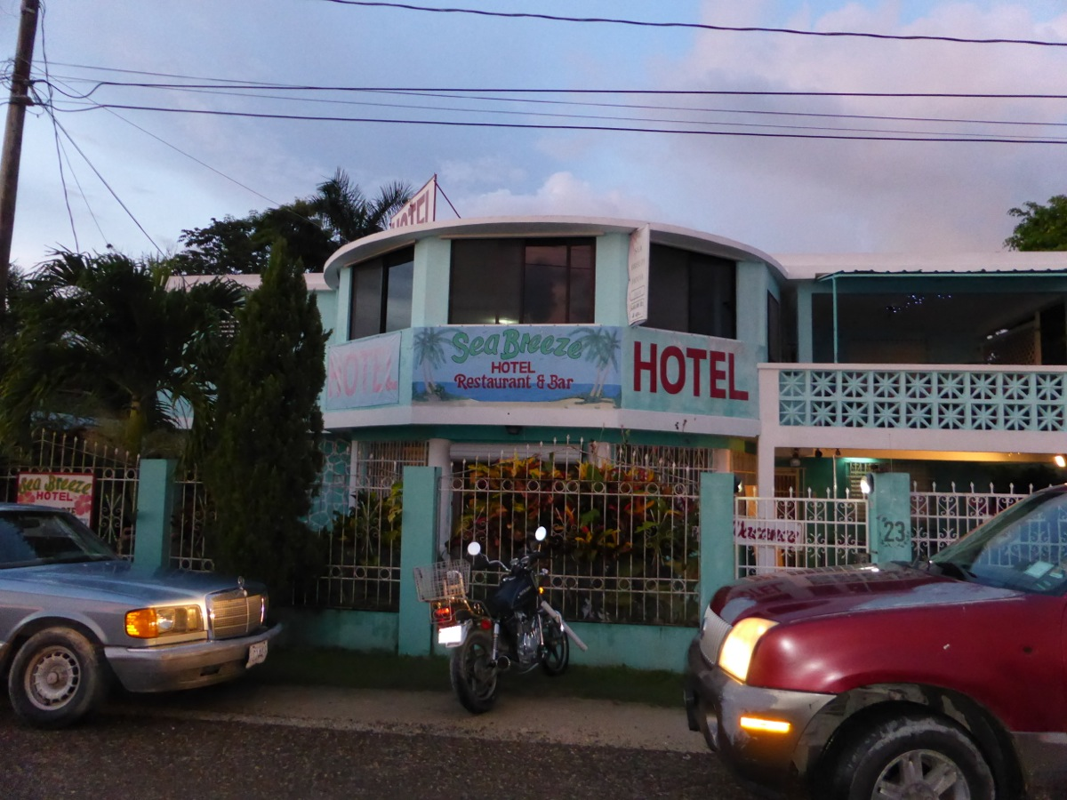 The highly recommended Sea Breeze Hotel