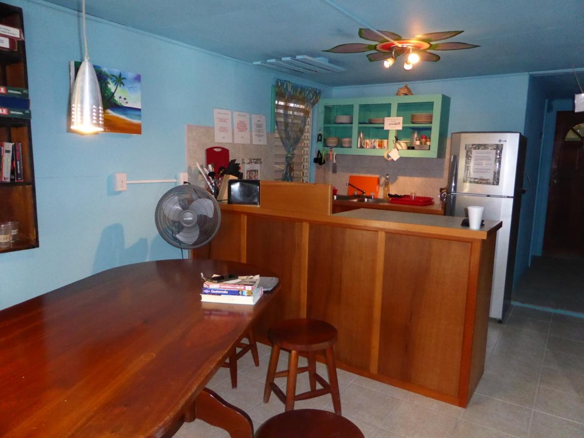 Yuma's House upstairs kitchen - the social hub (especially on rainy days!)
