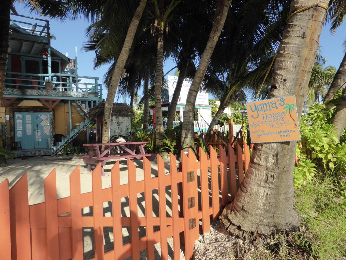 Yuma's House on the beach