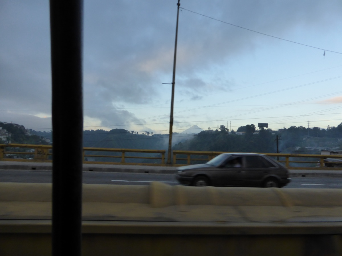 En-route to Antigua through Gaute