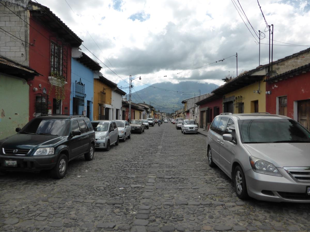Typical Antiguan street