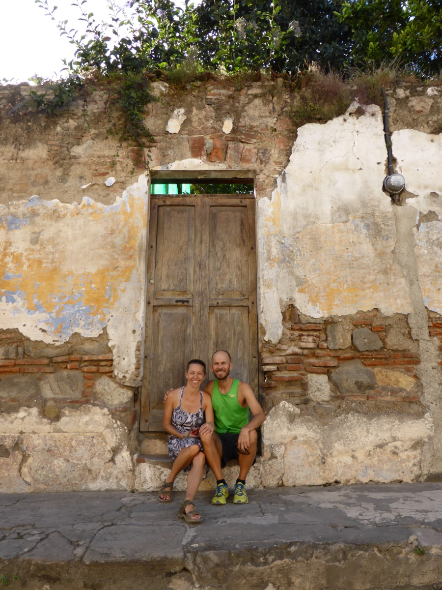 Just one of the many beautiful doorways in Antigua!