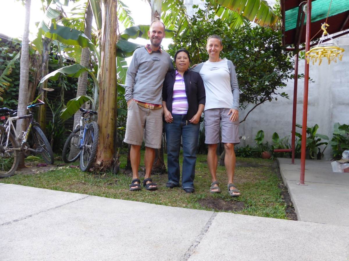 Our homestay mom, Magda