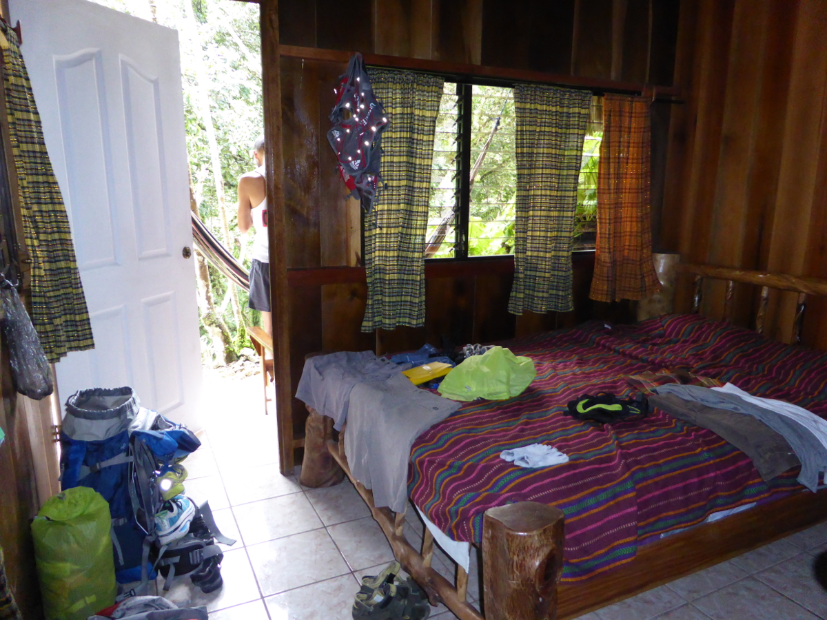 Our room at El Portal