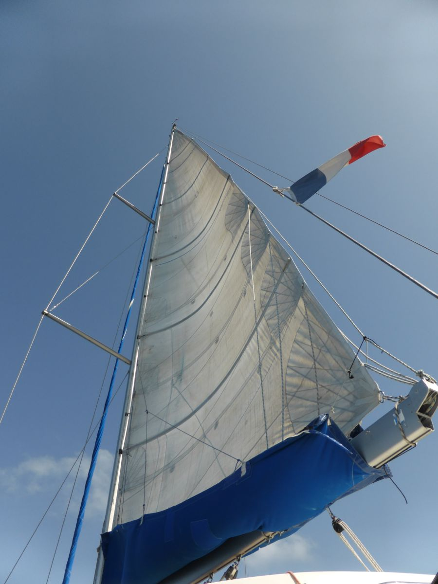 The main sail
