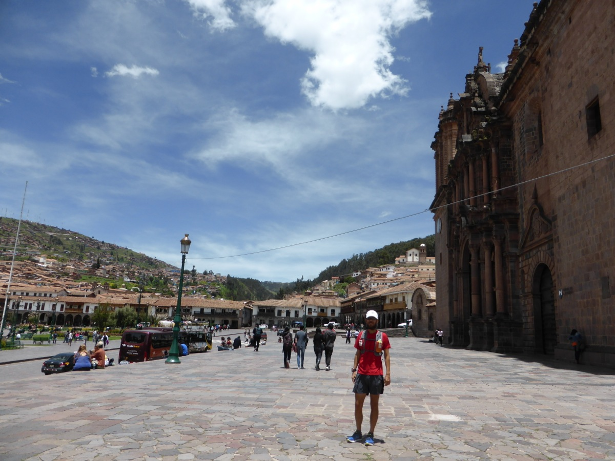 In the Cusco town square