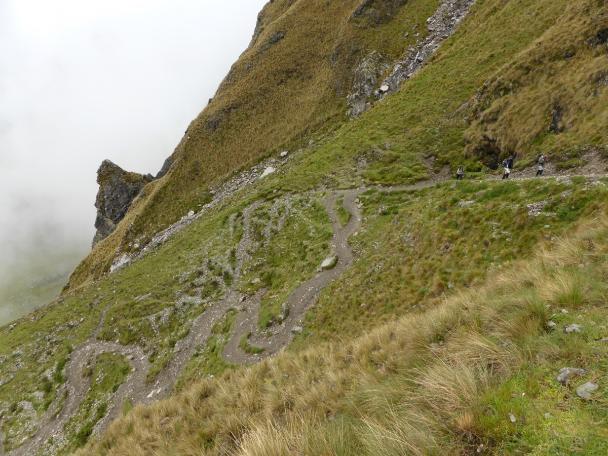 Switchbacks like no other we've encountered in our  mountain adventures!