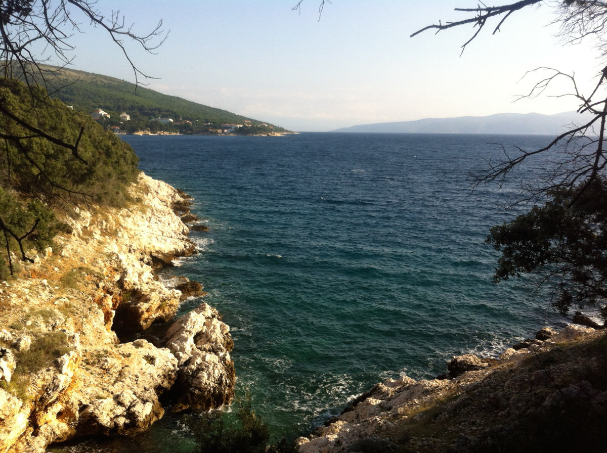 The Adriatic, with rugged, dramatic coastline