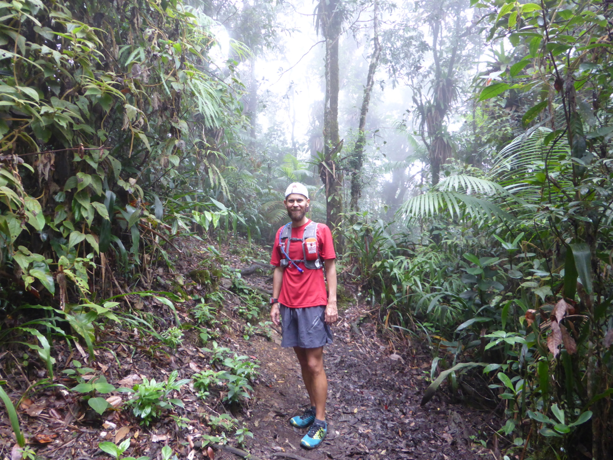 Dense foliage and technical trails made it fun!