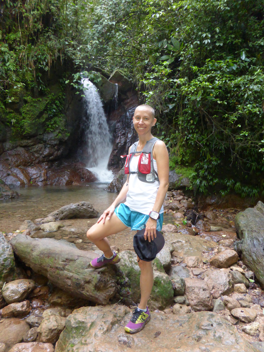 One of the many waterfalls in the Cerro Ambar