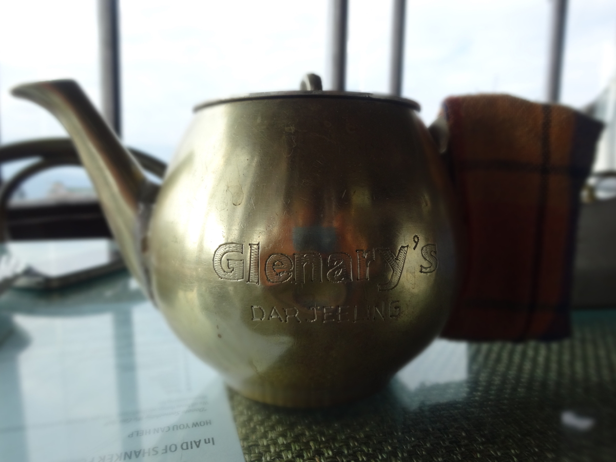 A cute Glenary's teapot