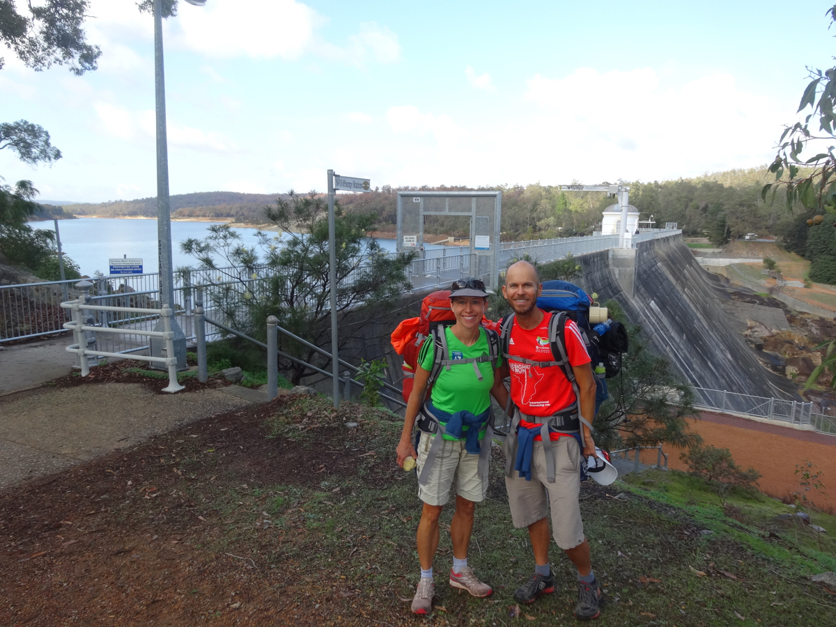 At the Mundaring Weir